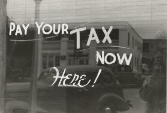 Pay your tax now, here